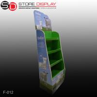 three tiers floor display stand for skincare products Manufactures