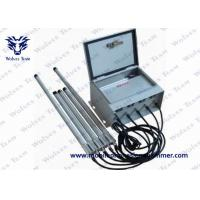 6 Bands Prison Jammer 530W Total RF Output With Wireless Control System Manufactures