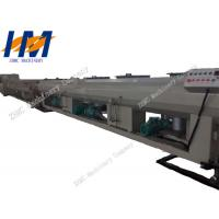 High Efficiency Plastic Pipe Extrusion Line , Plastic Tube Making Machine Manufactures