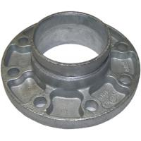 Cast Ductile Iron Grooved Pipe Fittings Grooved Quick Flange Adaptor for PE PVC Pipe Manufactures