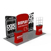 China Light Weight Trade Show Poster Display Popular 10ft*10ft Convenient Operation on sale
