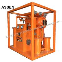 China Economic type High vacuum Insulating Oil Purifying System,Portable Transformer Oil Purifier machine on sale