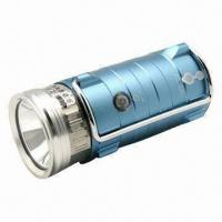 Single-head LED Night Fishing Flashlight with 1 x 3W Main LED Bulb and Blue Beam Color Manufactures
