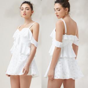 Hot Sale Fashion Womens Floral Sex Linen Slip Mini Dress Manufactures