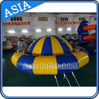 Giant Water Floating Inflatable Saturn Rocker / Inflatable Water Disco Boat Manufactures