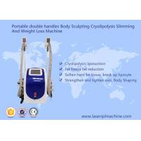 Body Sculpting Cryolipolysis Slimming Machine Portable Style Weight Loss Machine Manufactures