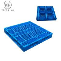 Full Perimeter Runner HDPE Plastic Pallets , Recycled Plastic Pallets For Stacking Option Manufactures
