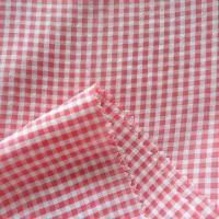 Polyester Yarn Dyed Plaid Fabric, 100 + 150 x 100 + 150D Construction, Suitable for Dress and Shirt Manufactures