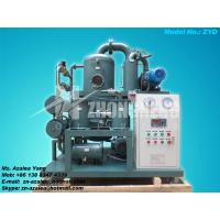 Series ZYD Double-stage Vacuum Insulating Oil Purifier Manufactures