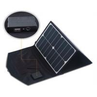 China 39 Watt Solar Panel Phone Charger Auto Recovery Protected Color Variety Options on sale
