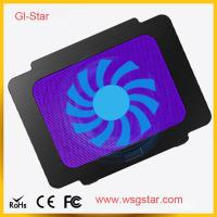 Hot sell and good price laptop cooling pad with single fan Manufactures