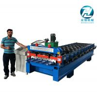 Automatic Aluminum Cold Roll Forming Machine 4KW 10 Meters/Min Manufactures
