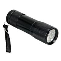 4 Hours IP67 Mini LED Flashlights / Super Bright Led Torch With Rear Switch Manufactures