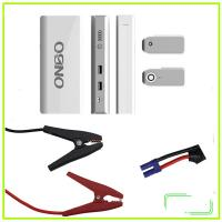 China ONBO car parts 12V multi-function car jump starter power bank mini car jump starter on sale