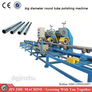 Stainless Steel Tube Polishing Machine , PLC Control Automated Polishing Machine