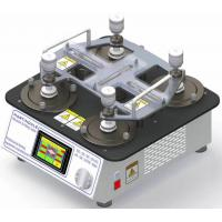 China 110V Lab Testing Equipment Martindale Abrasion And Pilling Tester  2 , 4 , 6 , 8 Heads for sale