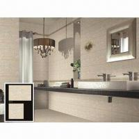 Wall/Ceramic/Glazed Tiles, Suitable for Bathroom and Kitchen Manufactures