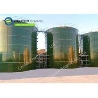 Bolted Steel Municipal Leachate Storage Tanks With NSF61 And ISO / EN 28765 Certifications Manufactures