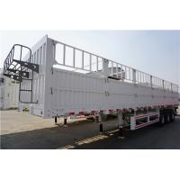 Quality tons per 40ft container fence semi trailer in truck trailer - CIMC for sale