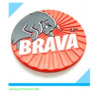 promotional embossed 3D soft PVC coaster Manufactures