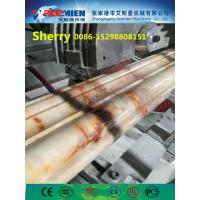 Buy cheap PVC artificial marble profile making machine extrusion line marble profile from wholesalers