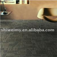 China factory waterproof multi level loop PP carpet tile Manufactures