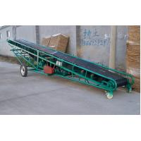China Soil belt conveyor with  large conveying capacity for loading and unloading on sale