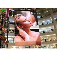 China P2 indoor slim hanging full color led display 3D indoor led display signs on sale