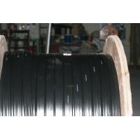 Rubber Sheathed Flexible Flat Crane Cable , Flame Resistance 4 x 25 Manufactures