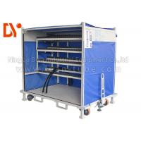 Anti Corrosion Mobile Tool Trolley , Lean Tube Connected Tool Trolley Cart Manufactures