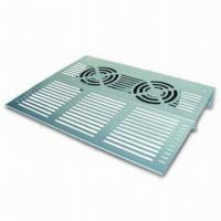 Pucker Iron Panel with 2 Fans of 80 x 80 x 15mm, 25dBA Noise Level and 0.9W Power Manufactures