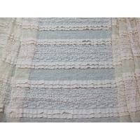 Multilayer Bridal Stretch Lace Trim Fabric Eco Friendly 50''- 52'' CY-LW0182 Manufactures