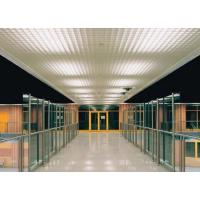 Suspended Decoration Metal ceiling tile grids Aluminum Triangle For stadiums Or Subway Manufactures