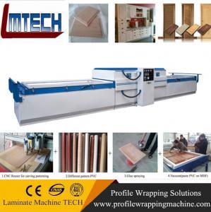 China mdf board vacuum membrane press machine on sale