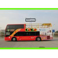 Creative Bus Ads Mobile led bus display for Digital Bus Advertising , High definition Manufactures
