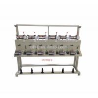Vertical Winder Path High Speed Cone Winding Machine With Frequency Variator Manufactures