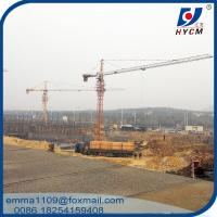6t Load Capacity Hammer Head Tower Crane Types Of QTZ63-5013 Model Manufactures