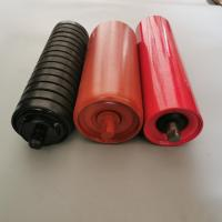 Buy cheap Shrink mouth conveyor gravity idler, reduce the wear between belt,conveyor parts from wholesalers