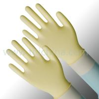 Latex Examination Gloves, Powder Free Polymer Coated Disposable Latex Dental Glove for Dental Examination Manufactures