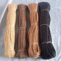 China raffia braid natural black on sale