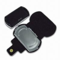 High-quality Leatherette Carrying Bag with Stand, Suitable for PSP Go Console Manufactures