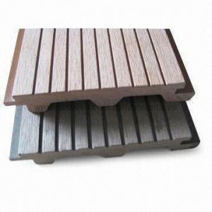 Bamboo/PVC Flooring, Wood Plastic Composite, As Outdoor Flooring Manufactures