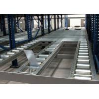 Steel roll conventional stacking Gravity Live Pallet Rack Manufactures