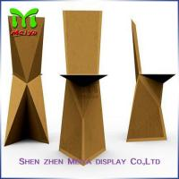 Natural / Brown , Retro Recycled Cardboard Furniture chairs For Subway & Bus Station Manufactures