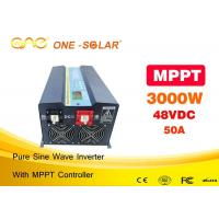 Auto Switch Ac To Dc Off Grid Solar Inverter 3000w With Automatic Protect Manufactures
