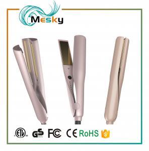 China TYME Twist Gold Hair Straightening Iron Flat Iron Hair Straightener on sale