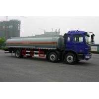 Heavy Duty Oil Tank Truck 6x2 JAC / Fuel Tanker Truck With CA6DF3-18E3 Manufactures