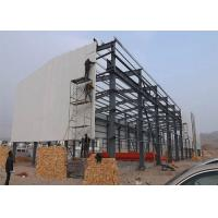 Customized Design Steel Structure Warehouse Environmentally Friendly With Sliding Door Manufactures