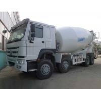 Low Noise 12m3 Concrete Construction Equipment 371hp 8*4 / Cement Mixer Truck Manufactures