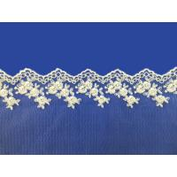 China Fashion Embroidered Custom Made ladies suits lace dress fabric /Embroidery Lace Fabric on sale